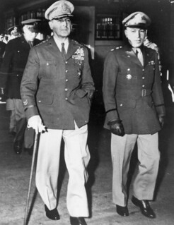 General Douglas MacArthur and aide