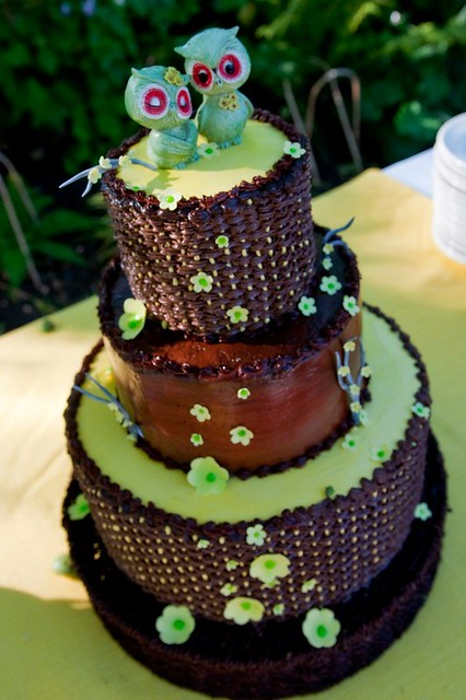 Owl Wedding Cake By Cahal18 Flick