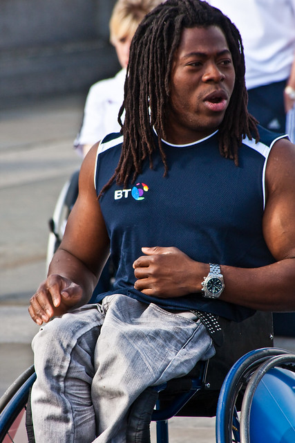 Header of Ade Adepitan