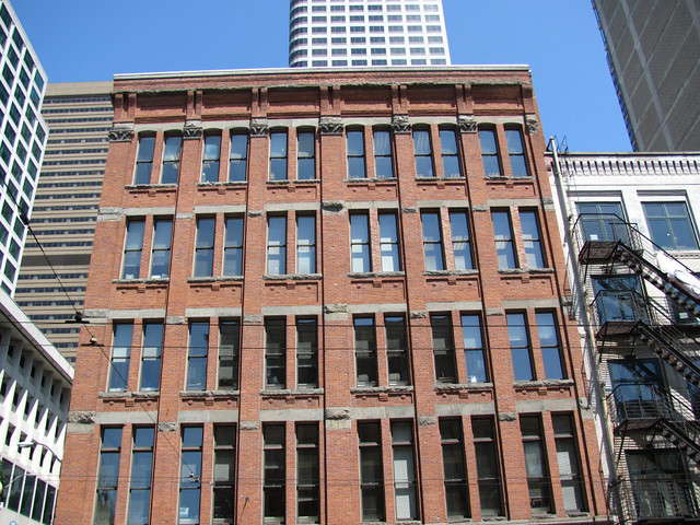 Historic Holyoke Building Seattle Flickr Photo Sharing