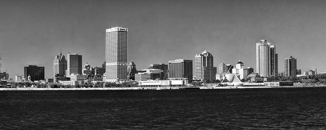 Milwaukee Skyline Panoramic