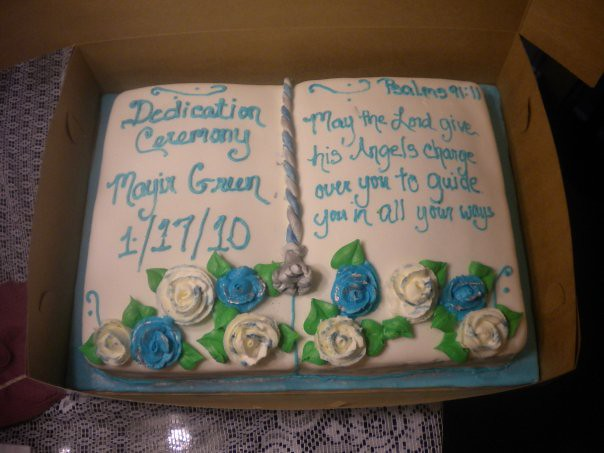 Cake Decorating Ideas For Baby Dedication : Baby Dedication Cake Explore terriscreativegiftsandcakes ...