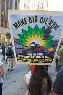 Make Big Oil Pay march to Chevron, EPA & BP 210