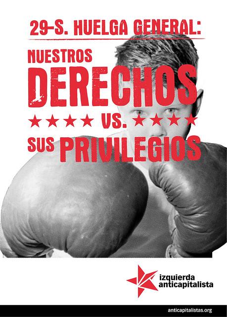 Cartel de Izquierda capitalista para el 29 de septiembre de 2010