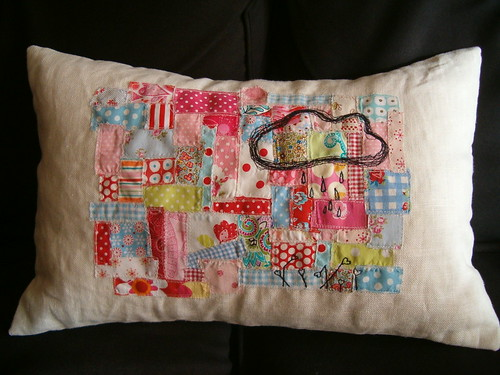 scrapslove  pillow #02