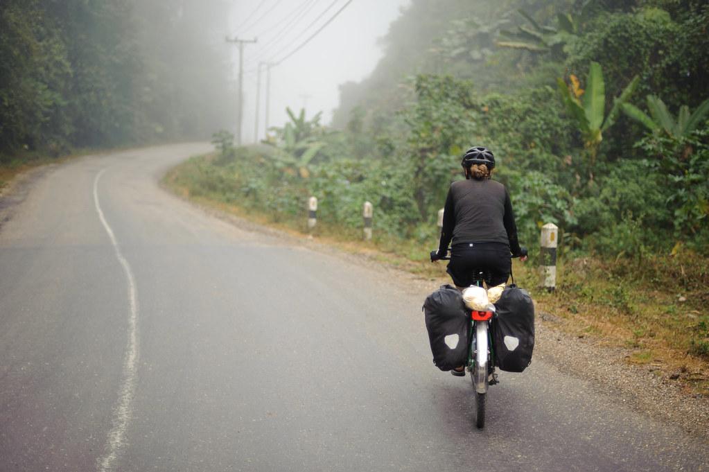 Tara Riding into the Mist