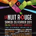 La Nuit Rouge - Flyer