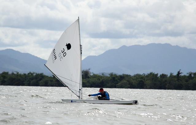 Clases sunfish, laser 4.7 y kite, navegación a vela Festival Deportivo