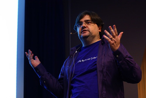 Nick Hodge at PyCon Australia 2010
