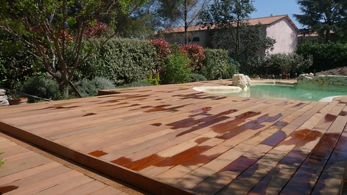 Deck piscine for Achat piscine hors terre