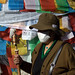 Small photo of A Woman Does Kora at Jokhang Temple