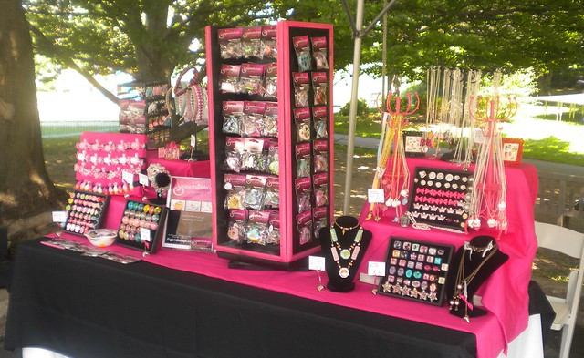 Sugarraindrops Jewelry Display Booth Flickr Photo Sharing