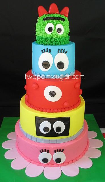 Yo Gabba Gabba Cake A Photo On Flickriver