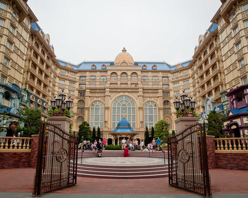 Tokyo Disneyland Back Gate