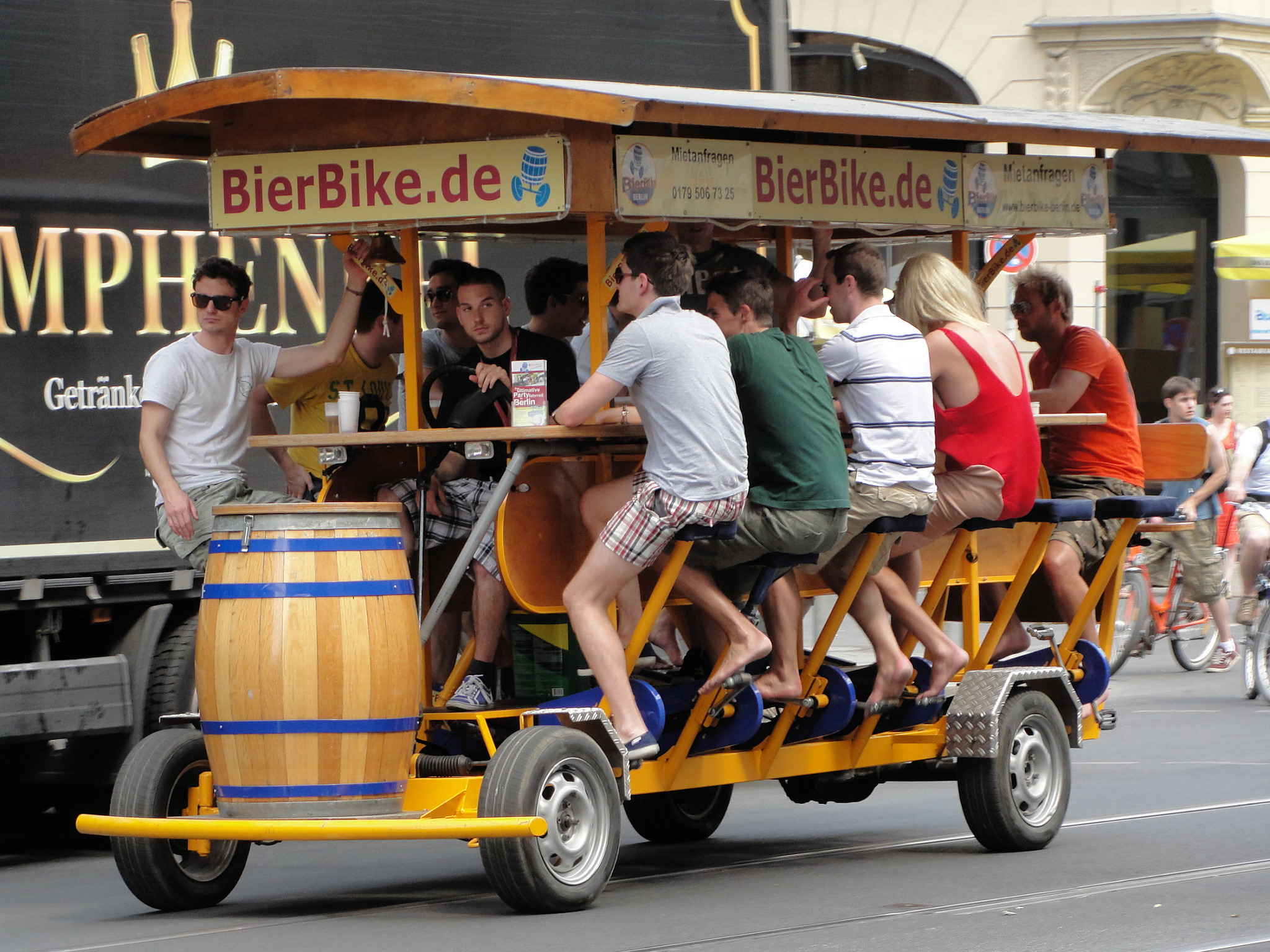 Bierbike (Bild frei verwendbar)