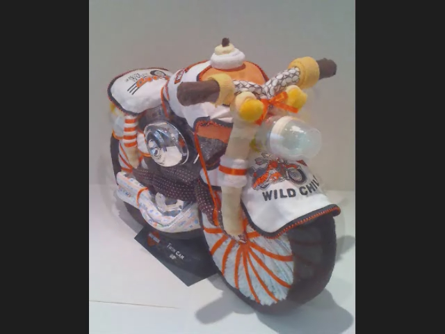 harley davidson diaper cake baby shower gift ideas flickr photo