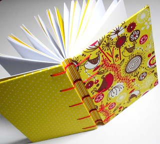 "Caderno ""Yellow Birds"""