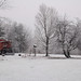 Red Caboose Snowbound by sprout73