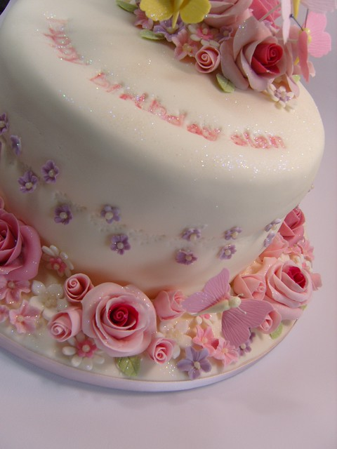 Images Of Birthday Cake And Roses : Rose birthday cake Flickr - Photo Sharing!