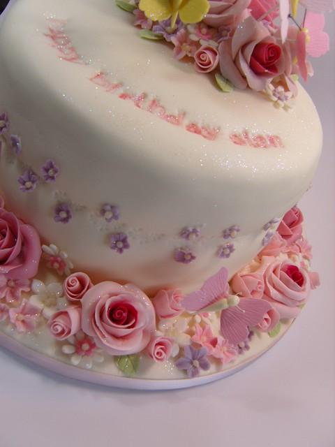 Rose birthday cake Flickr - Photo Sharing!