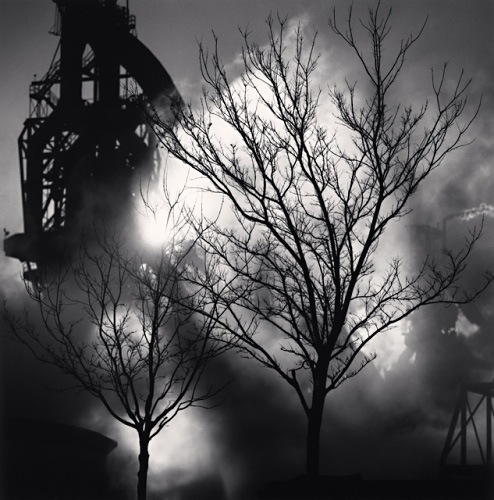 The Rouge, Study 99, Dearborn, by Michael Kenna 1995