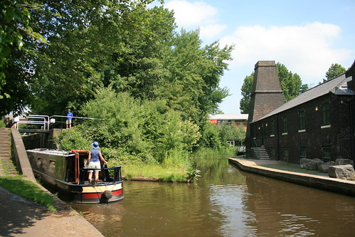 Stoke-on-Trent Canal by Vicky Hugheston