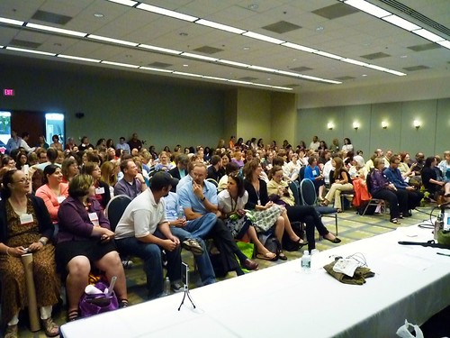 the crowd builds for 2010 Battledecks: The Rumble Royale - standing room only!