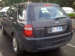 ford escape(0.0), compact car(0.0), ford taurus x(0.0), automobile(1.0), automotive exterior(1.0), sport utility vehicle(1.0), mini sport utility vehicle(1.0), wheel(1.0), vehicle(1.0), compact sport utility vehicle(1.0), crossover suv(1.0), bumper(1.0), ford(1.0), land vehicle(1.0),