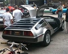race car, automobile, vehicle, performance car, delorean dmc-12, land vehicle, coupã©, supercar, sports car,