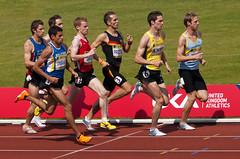 Heat 1 of the Mens 1500m