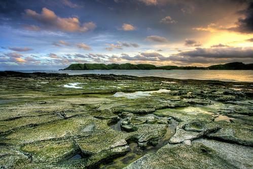 sunset seascape beach indonesia landscape lombok hdr hardrock ntb exposureblending photomatix tanjungaan westnusatenggara nusatenggarabarat