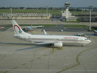 CN-ROU, Boeing 737-8B6(W), RAM/Royal Air Maroc, 33069/2911, Paris/Orly, June 27th 2010