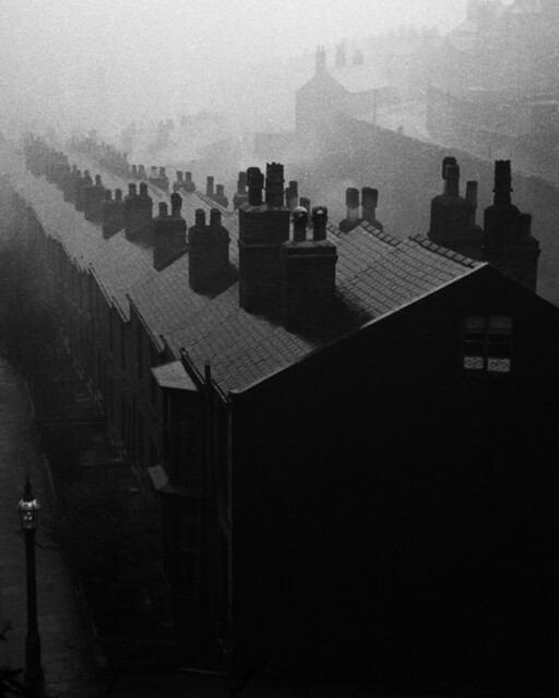 Misty evening in Sheffield, by Bill Brandt 1937