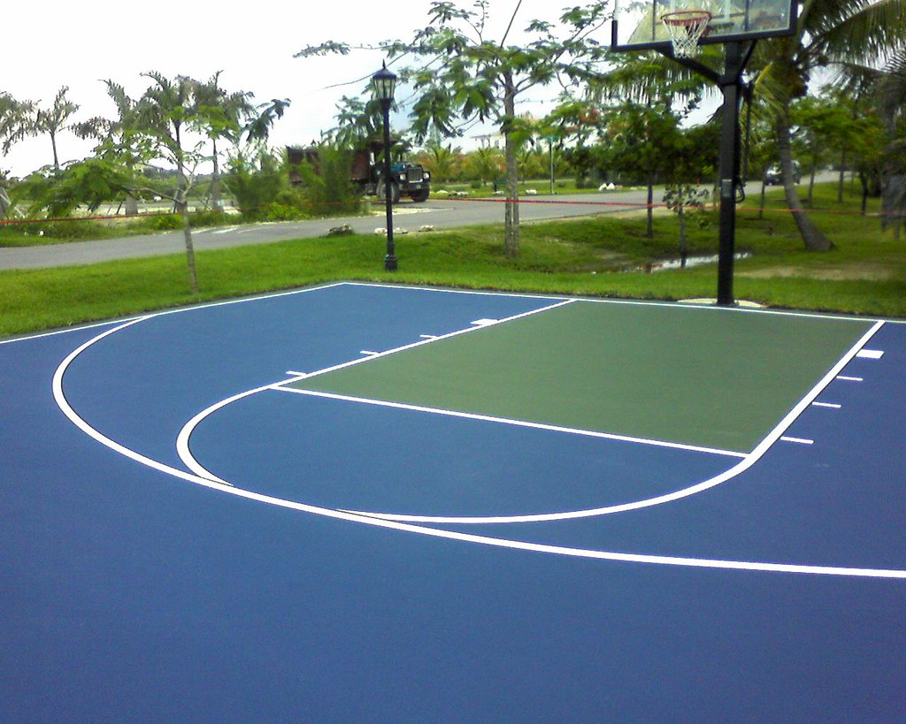 Basketball multipurpose agile courtsagile courts for Basketball court cost estimate