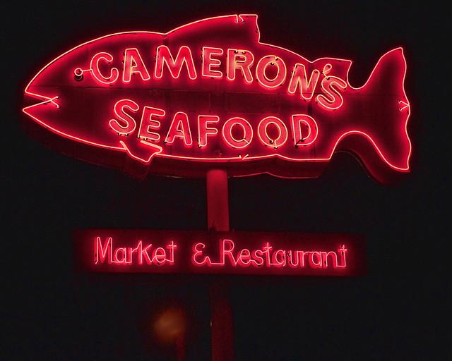 Cameron's Seafood - 1978 East Colorado Boulevard, Pasadena, California U.S.A. - March 4, 2010