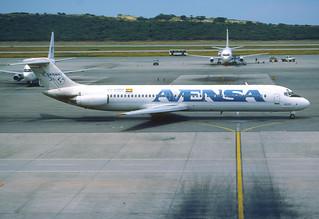 154bb - AVENSA DC-9-51; YV-820C@CCS;15.10.2001