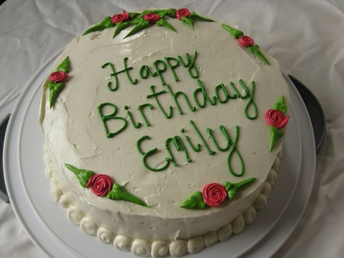 Birthday Cake Images Emily : Why Cakes are Harder Than Cupcakes ModernDomestic