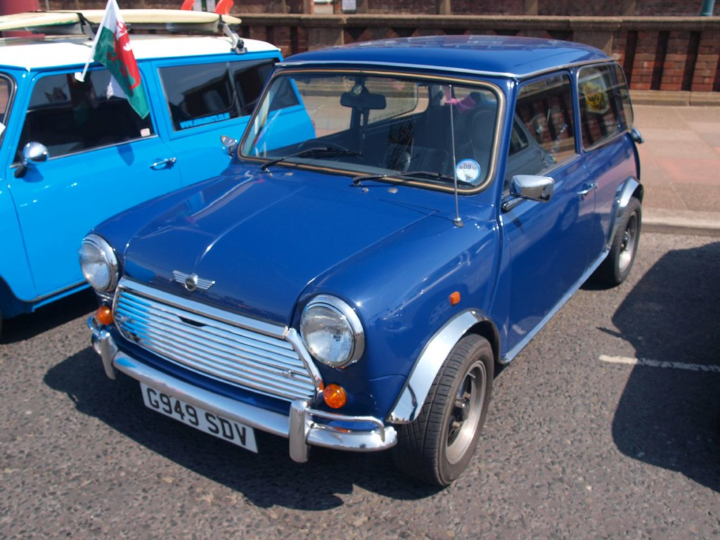 Rover Mini Mayfair Auto 1989 Rover Mini Mayfair Auto 1 Flickr