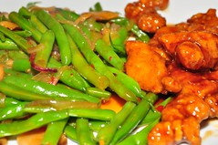 Mmm...green beans stir fry