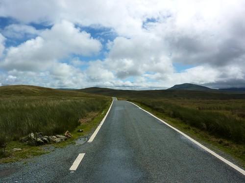 Empty Road I, Snowdonia
