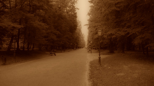 park old sepia perspective croatia zagreb times maksimir friendlychallenges