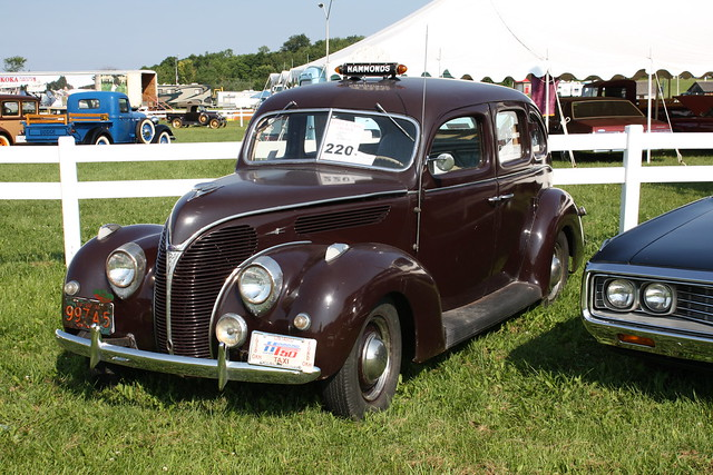 1938 ford deluxe 4 door taxi flickr photo sharing for 1938 ford 4 door sedan