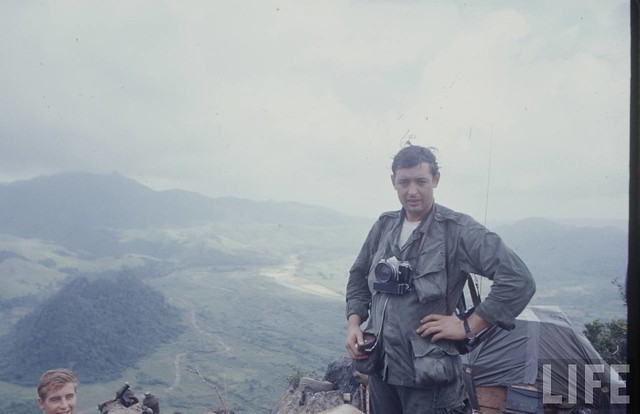 LIFE photographer Co Rentmeester near DMZ - 1966