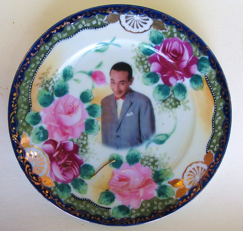Pee-wee Herman Portrait Plate