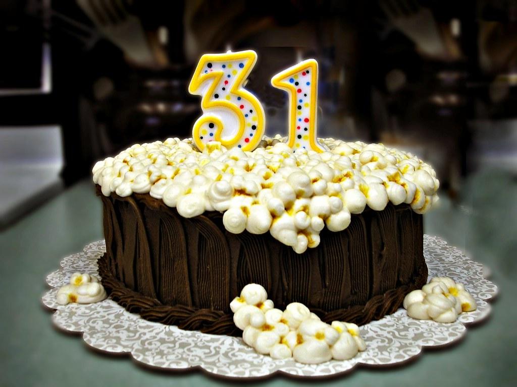 Lisas 31st Birthday Cake