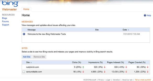 New Bing Webmaster Tools   Flickr - Photo Sharing!