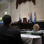 H. E. Christian Wenaweser speaks at the New York City Bar Association in Celebration of International Justice Day