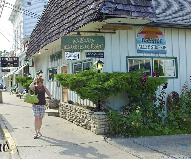 Bayside tavern and shops flickr photo sharing for Fish creek wi weather