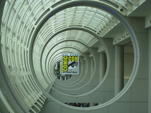 Death Star Cannon View at the San Diego Convention Center