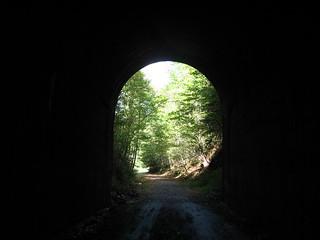 Old train tunnel, Wise, VA